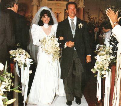 Венчание Арнольда Шварценеггера и Марии Шрайвер - наследницы династии Кеннеди