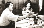 Арнольд Шварценеггер на семейном застолье в 1972 г.
