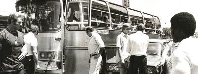 Автобус на Мистер Олимпия 1975 г.