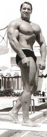 Шварценеггер в Майами в 1968 г.